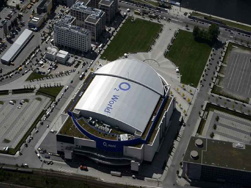 Video of the O2 World Arena in  Berlin Friedrichshain