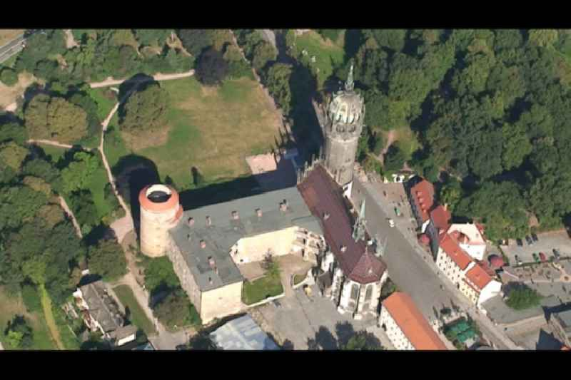 Video of the castle church in Lutherstadt Wittenberg in Saxony-Anhalt.